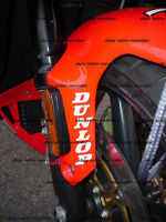 Dunlop Tire Fender Decals Fits All Sportbikes