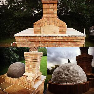 pizza oven kit build your own 1 meter brick oven wood fire outdoor