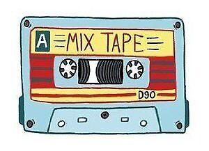 Mix Tape vinyl sticker for skateboard luggage laptop tumblers car