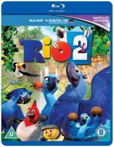 Rio 2 (Region B & A) Blu Ray *NEW & SEALED* 5039036065726