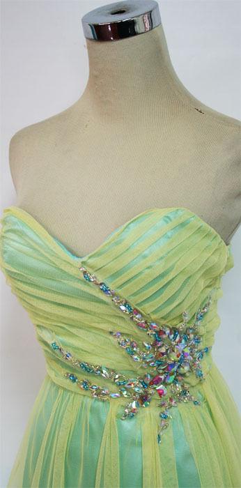 NWT ROBERTA  Gelb   Seafoam Prom Formal Gown 5