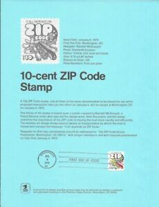 1511-10c-ZIP-Code-Stamp-Poster-Unofficial-Souvenir-Page-Flat-HC