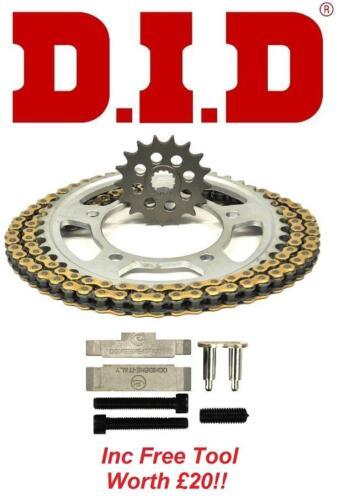 02-05 D.I.D VX Chain And Sprocket Kit Set 530 OE Tool Honda VTR1000 SP2
