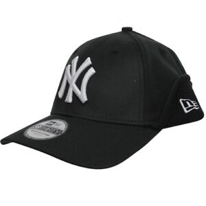 9bb829ce6d1 New Era 39Thrity MLB NY Yankees Downflap Stretch Fit Cap Black ...