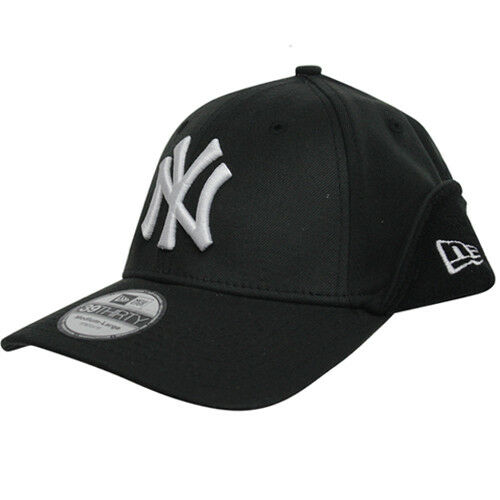 New Era 39Thrity MLB NY Yankees Downflap Stretch Fit Cap Black 10392951 UW