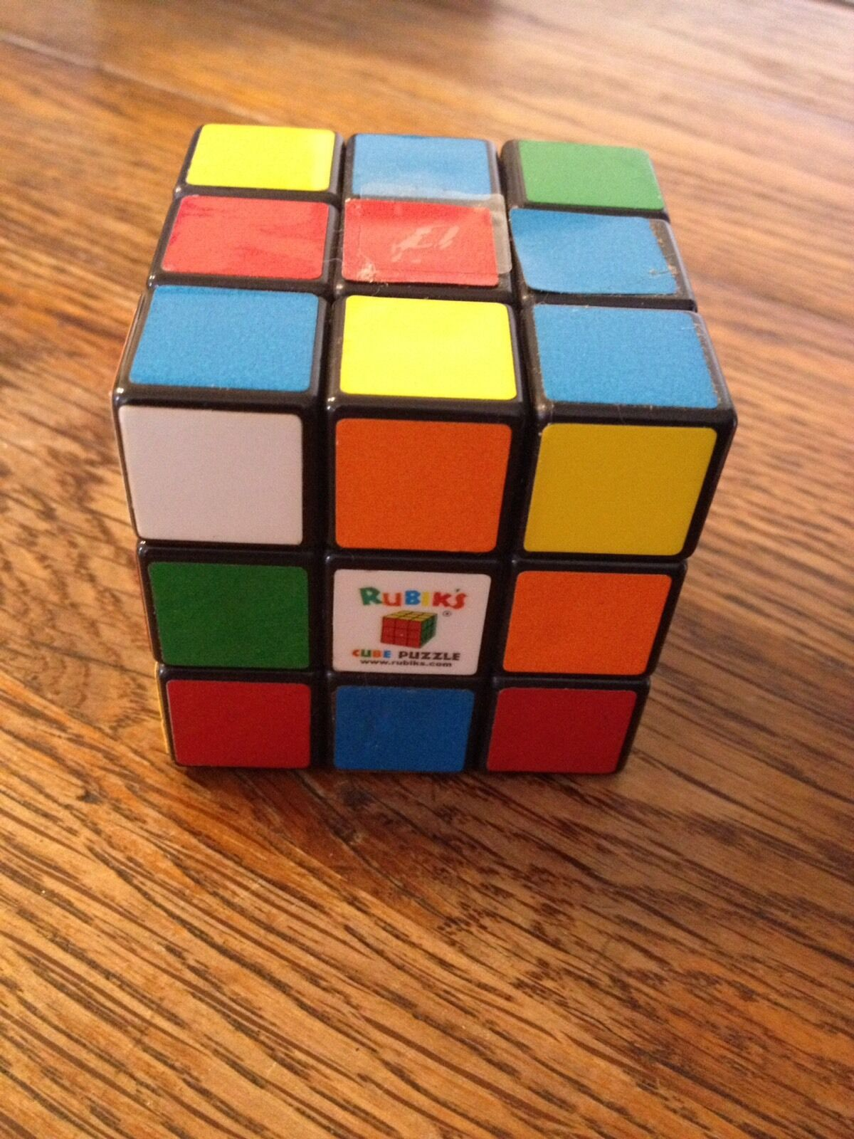 RARE non résolus Rubik's Cube Puzzle