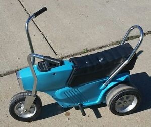 Eldon Poweride electric tricycle vintage childrens ride on toy ANTIQUE