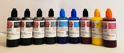 9X100ML PIGMENT Refillable Ink For epson SureColor SC P800 printer  cartridge | eBay