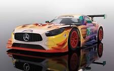 Scalextric MERCEDES AMG Gt3 Daytona 24 Hours 2017 1/32 Slot Car US Ship