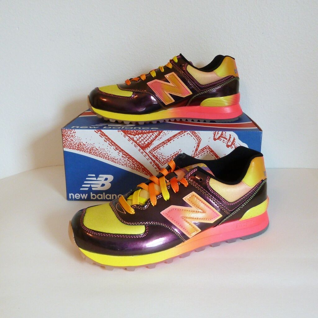 New Balance W574BOW  Women's 574 Lifestyle & Retro Classic Running Sneaker 10 M