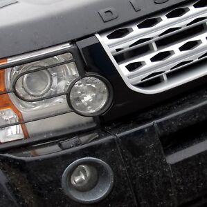 Land Rover Discovery 3 Todo Negro Disco 4 conversión de actualización de rejilla frontal de estilo