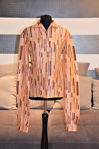Rouge parfait 990 € Shirt Soie Saumon état Blanc Gr 38 Prada Np Fvx0nqBwT