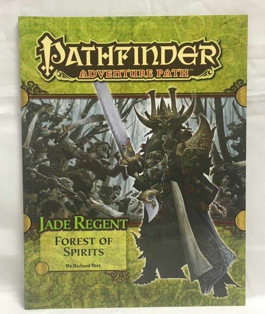 Pathfinder Adventure Path Parte 4 Jade Regent Bosque de Spirits 3.5 Libro