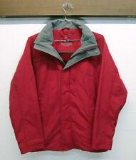 vtg L.L. Bean Red Waterproof Winter Ski Snow Windbreaker Jacket sz S 3 in 1 EUC!