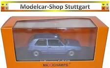 Volkswagen VW Golf GTI 1985 blaumetallic - Minichamps 1:43 - neu