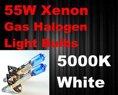 New 98-00 volvo s70/91-97 bmw 318i Fog Light H1 Xenon 55w Super White Bulbs