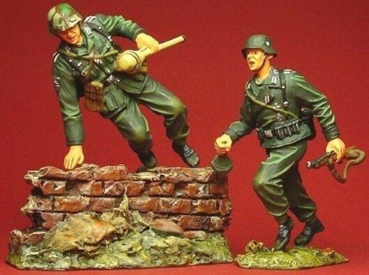 PATRIOT MODELS W2SET5 PANZER GRENADIERS FOR ANOTHER CROSS MIB