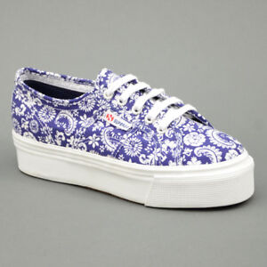 Superga ACOT DOUBLE FANTASY Blu mod. 2790