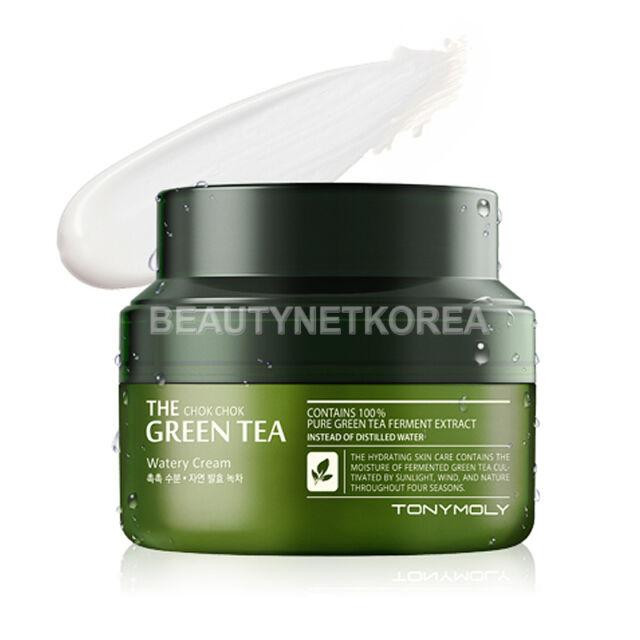 [TONYMOLY] The Chok Chok Green Tea Watery Cream 60ml / Moisture Cream
