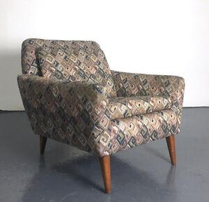 Image Is Loading Vintage Mid Century Danish Modern Folke Ohlsson Dux