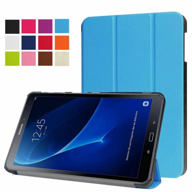 Étui pour Samsung Galaxy Tab A 10.1 Sm T580 T585 Poche Flip Case Étui