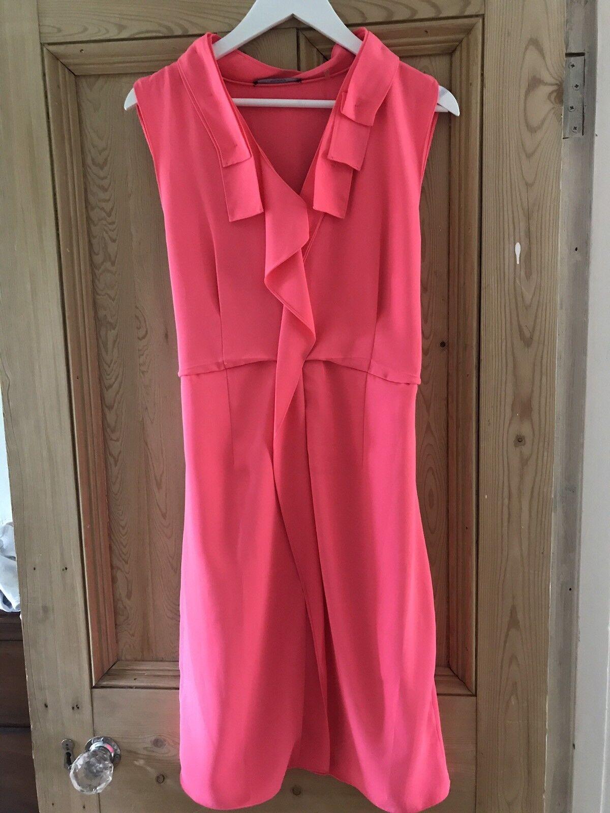 TAHARI Sheath Dress  Bright Pink Women's Size