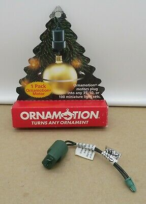 1998 Ornamotion Christmas Ornament Rotating Turner Hanger ...