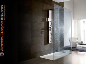 Parete doccia walk in in cristallo satinato a milano kijiji