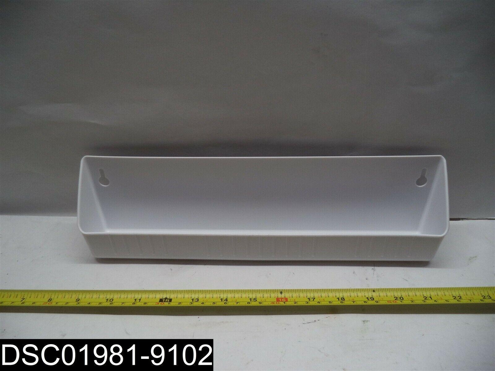 QTY40  6581-14-11-4DUR Rev-A-Shelf 14  standard Tip Out Blanc Plateau
