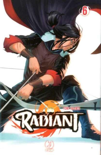 Manga - J-Pop - Radiant 6 - Nuovo !!!