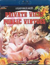 Private Vices Public Virtues blu-ray Mondo Macabro 1976 cult arthouse italy