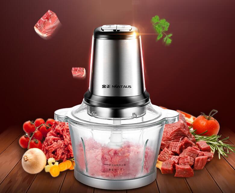 220 V électrique 200 W hachoir à viande Accueil Cuisine Saucisse Maker mince en acier inoxydable