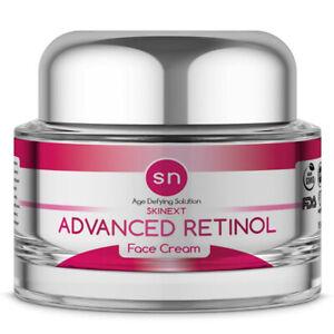 Anti-Aging-PURE-Advanced-RETINOL-WRINKLE-CREAM-Skinext-Age-Defying-Face-Cream