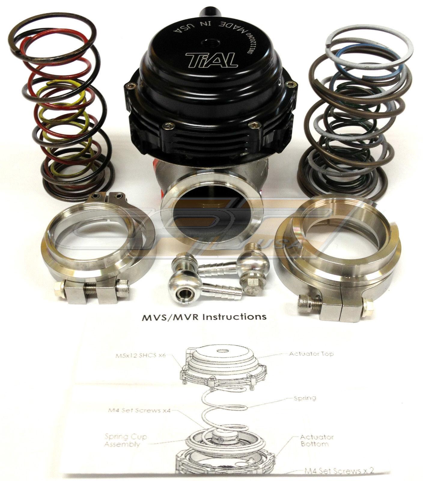 Tial 002949 Sport Mv R External Wastegate 44mm V Band Black Ebay