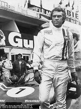 1970s 24 Hours Le Mans Movie Steve McQueen Race Car Advertisement Poster #3