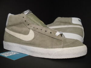 official photos e967f fb270 Image is loading 2002-NIKE-DUNK-SB-BLAZER-SUEDE-CLASSIC-OLIVE-