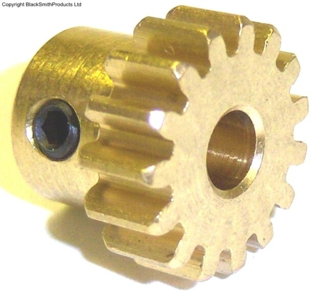 1/8 540 550 EP Motor Pinion Gear 15 Teeth Module 1 15T