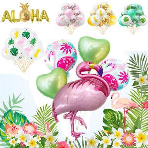 Alpaca Llama Foil Balloon Party Mexican Summer Aloha Hawaïen Tropical