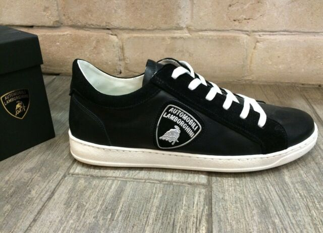 Automobili Lamborghini Mens Shoes Car Fan Sneakers Trainers LAM70002, New In Box