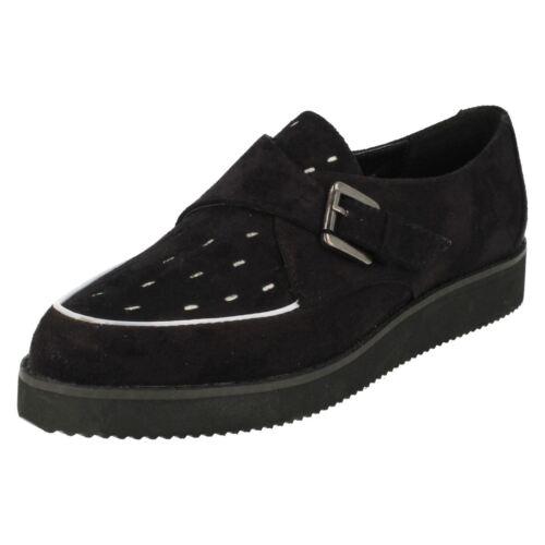 Ladies Spot On Flat /'Shoes/'