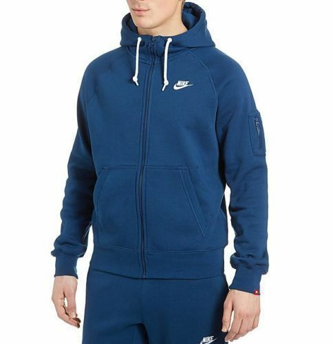 NIKE PETROL Blau HOODED FULL TRACK SUIT