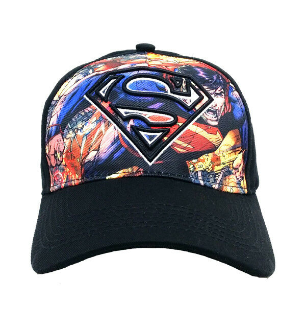 576934ebb99 DC Comics Superman Kids Baseball Cap Hat One Size
