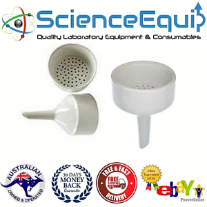 Details about BUCHNER FILTER FUNNELS Porcelain for transfer liquids, 4  Sizes, Pack of 1 pc