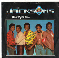 """The Jacksons - Walk Right Now 7"""" Single 1981"""