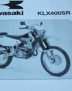 2003 kawasaki klx400sr klx 400 sr a1 service repair shop manual rh ebay co uk 2003 Kawasaki KLX 400 2003 kawasaki klx 400 service manual