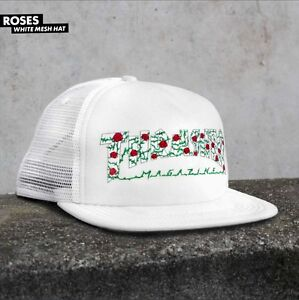 bf7577d6fc319 Image is loading Thrasher-Magazine-ROSES-LOGO-Snapback-Skateboard-Trucker -Hat-