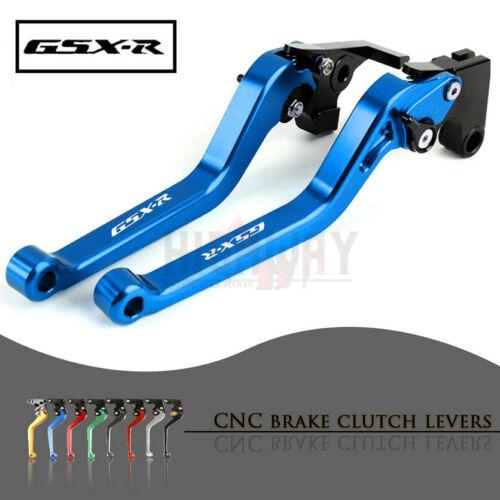 CNC Long Adjustable Brake Clutch Levers for SUZUKI GSXR1000 GSX-R 1000 K5 05-06