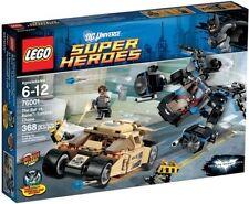 NEW SEALED BOX Marvel Superheroes LEGO 76001 Batman Verses Bane Tumbler Chase