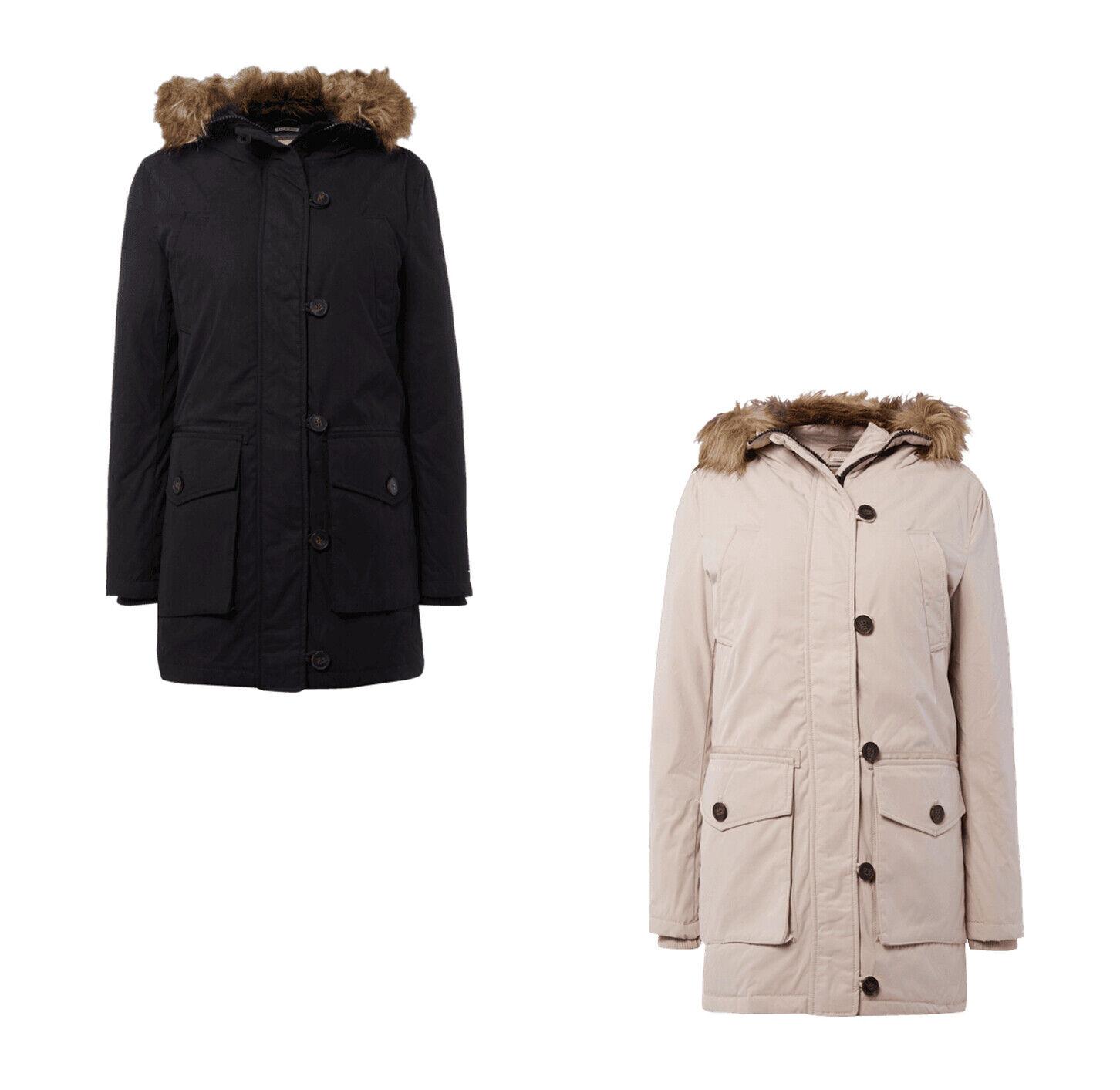 Hilfiger Denim Parka plumón-abrigo chaqueta capucha invierno chaqueta señora  talla s  bienvenido a orden