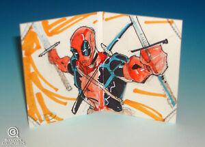 2012-Marvel-Premier-Deadpool-Sketch-Card-Cruddie-Torian-Upper-Deck-Hinged-UD-1-1